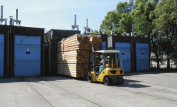 愛媛県森林組合連合会木材流通センター